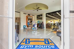 Gym Source store interior, Naples, Florida - Commercial Photography by Carver Mostardi.