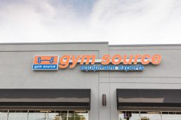 Gym Source store, Wilmington, Delaware - Commercial Photography by Carver Mostardi.