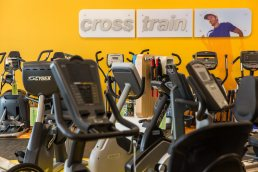 Gym Source store interior, Wilmington, Delaware - Commercial Photography by Carver Mostardi.