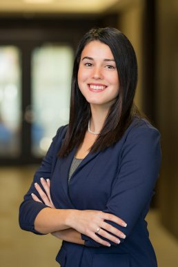Corporate head shot of female staff member photographed at SCS Engineers in Tampa, Florida.