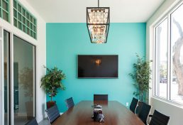 Conference Room at Barkett Realty Offices - St. Petersburg professional headshots - Carver Mostardi Photography.