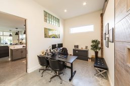 Interior view of Barkett Realty Offices - St. Petersburg professional headshots - Carver Mostardi Photography.