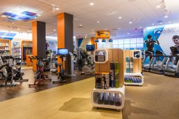 Gym Source store interior - Boston, Massachusetts - Commercial Photography by Carver Mostardi.