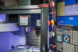 Cnc machine at Seaway Plastics manufacturing in Port Richey, Florida by Tampa, Florida industrial photographer Carver Mostardi.